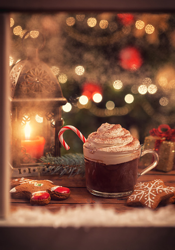 Candy Cane「Hot Chocolate for Christmas」:スマホ壁紙(1)