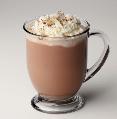 ココア「Hot chocolate with whipped cream」:スマホ壁紙(8)