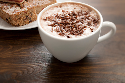 ココア「ホットチョコレート」:スマホ壁紙(2)