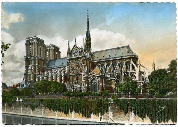 Postcard「Notre-Dame De Paris」:写真・画像(7)[壁紙.com]