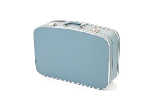 Suitcase「Blue Suitcase isolated on white」:スマホ壁紙(10)