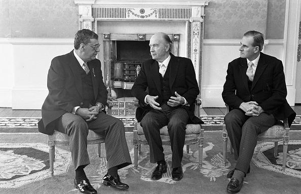 Michael V「President Hillery with the Jordanian Ambassador to Ireland Dr Albert Butros 1988」:写真・画像(13)[壁紙.com]