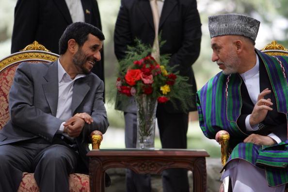Kabul「Iranian President Ahmadinejad Meets Afghan Counterpart」:写真・画像(12)[壁紙.com]
