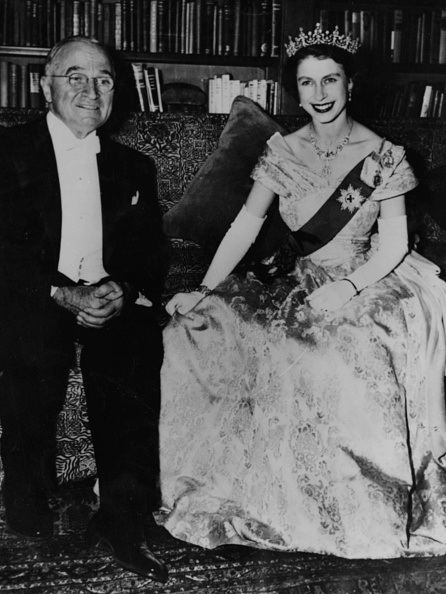 US President「Harry S Truman And Princess Elizabeth」:写真・画像(17)[壁紙.com]
