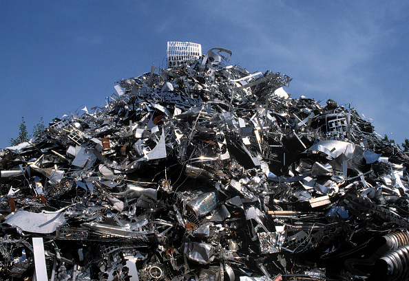 Recycling「Aluminium scrap collected for recycling」:写真・画像(18)[壁紙.com]