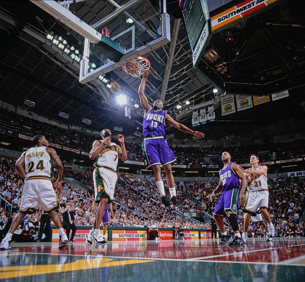 Brent Barry「Milwaukee Bucks vs Seattle SuperSonics」:写真・画像(0)[壁紙.com]