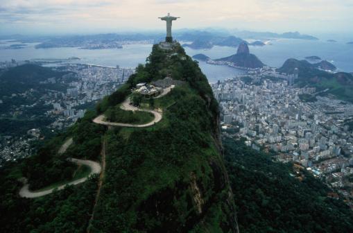 Rio「View From Corcovado in Rio de Janeiro, Brazil」:スマホ壁紙(5)