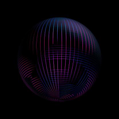 Quantum Computing「Sphere glowing from the inside」:スマホ壁紙(14)