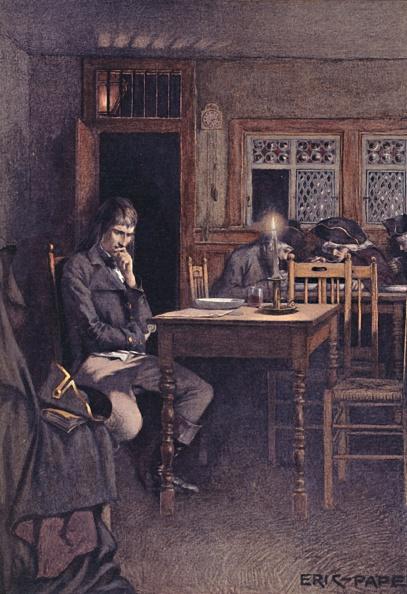 Contemplation「Bonaparte In 1792 As A Frequenter Of A Six-Sous Restaurant In Paris」:写真・画像(19)[壁紙.com]