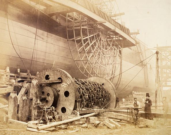 Photography「Isambard Kingdom Brunel Beside The 'Great Eastern' circa 1857」:写真・画像(2)[壁紙.com]
