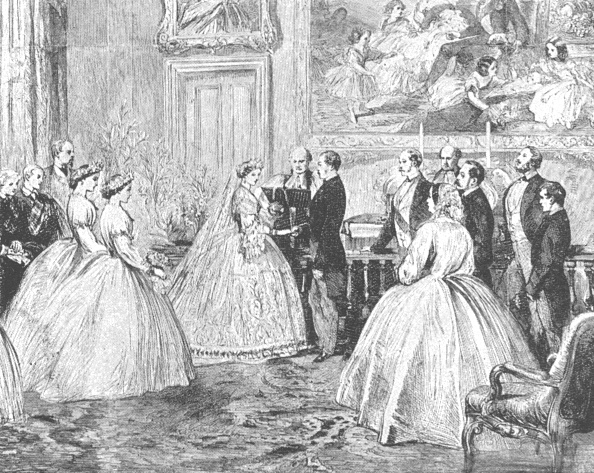 Dining Room「The Marriage Of Princess Alice With Prince Louis Of Hesse1862」:写真・画像(16)[壁紙.com]