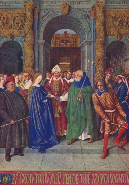 Medieval「The Marriage Of The Virgin C1455 (1939)」:写真・画像(12)[壁紙.com]
