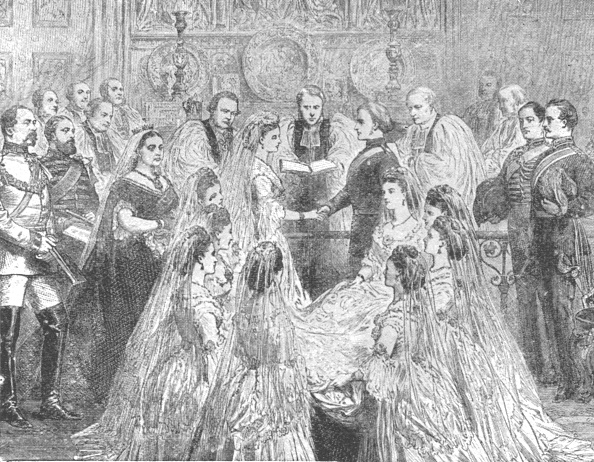 1900-1909「The Marriage Of Princess Louise With The Marquis Of Lorne1871」:写真・画像(8)[壁紙.com]