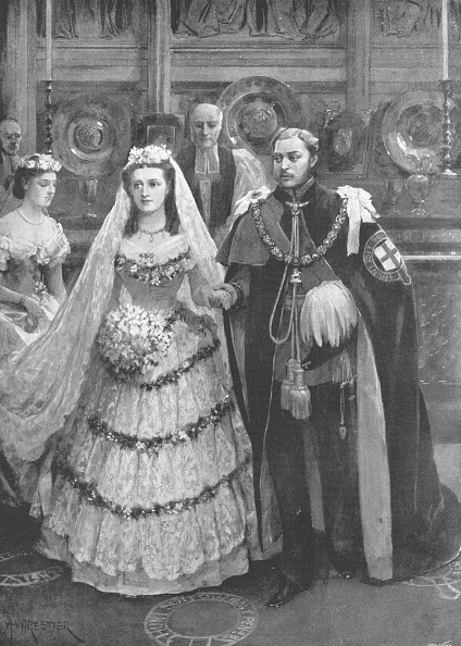 Wedding Dress「The Marriage Of The Prince Of Wales With Princess Alexandra Of Denmark」:写真・画像(12)[壁紙.com]