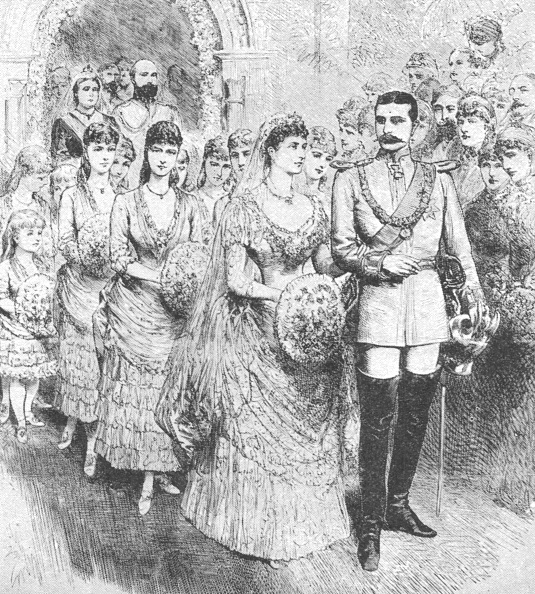 Bride「The Marriage Of Princess Beatrice With Prince Henry Of Battenberg1885」:写真・画像(4)[壁紙.com]