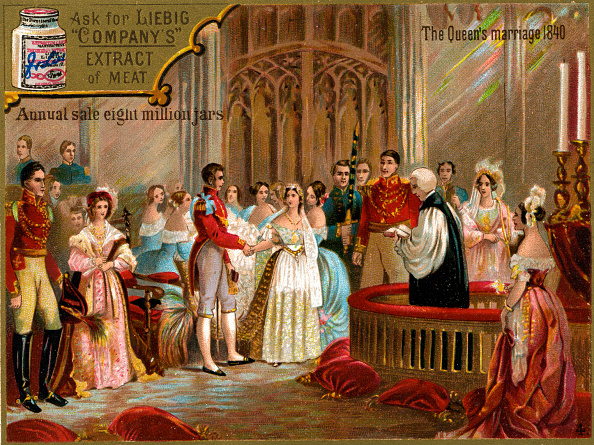 Wedding Vows「The marriage of Queen Victoria to Prince Albert in 1840」:写真・画像(4)[壁紙.com]