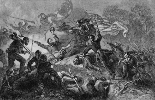 American Civil War「Capture Of Roanoke」:写真・画像(1)[壁紙.com]