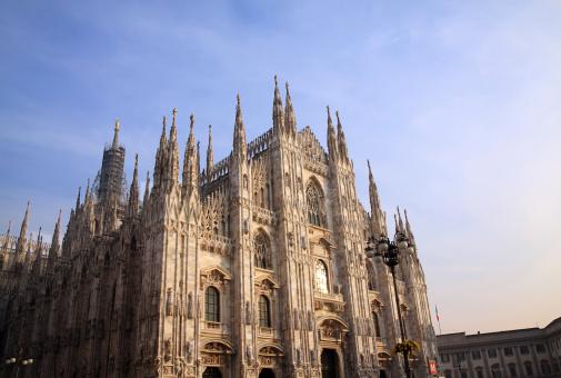 Piazza Del Duomo - Milan「Milan (Italy) - The Cathedral」:スマホ壁紙(9)