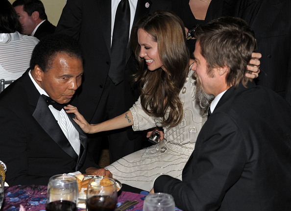 Boxer Brad Pitt「UNICEF Ball Honoring Jerry Weintraub - Inside」:写真・画像(5)[壁紙.com]