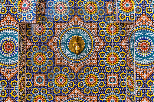 Morocco「Exquisite tile work in Morocco」:スマホ壁紙(2)
