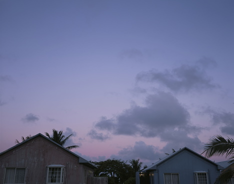 Northern Mariana Islands「Sky and houses at dawn」:スマホ壁紙(11)
