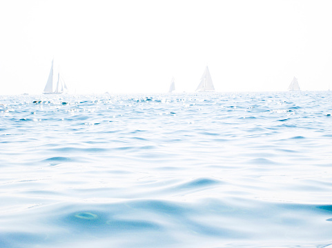 Water Surface「Italy, Liguria, Imperia, sailing boats」:スマホ壁紙(7)