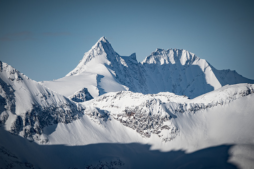Hohe Tauern Range「Grossglockner mountain peak, Salzburg, Austria」:スマホ壁紙(17)