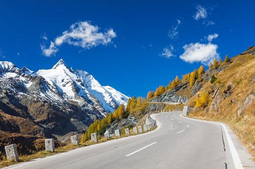 Mountain Pass「Grossglockner with high alpine road」:スマホ壁紙(5)