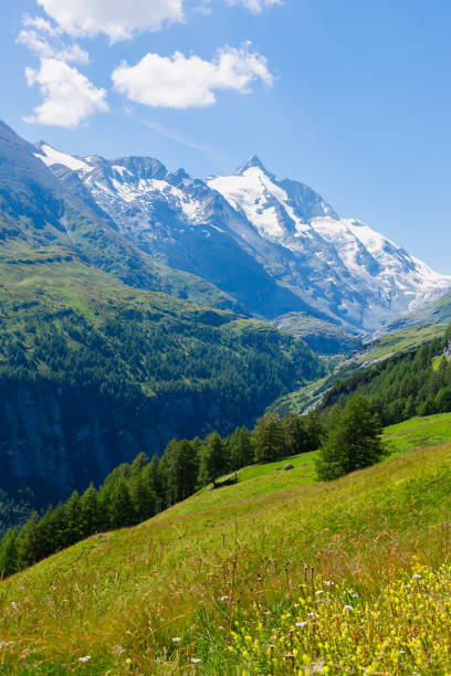 Grossglockner mountain range in the Austrian Alps, Austria:スマホ壁紙(壁紙.com)