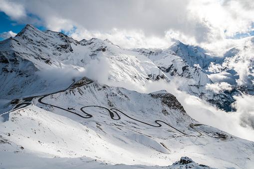 European Alps「Grossglockner toll road, Alps, Austria」:スマホ壁紙(12)