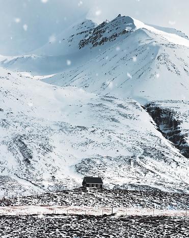 雪の結晶「アイスランドを小屋します。」:スマホ壁紙(8)