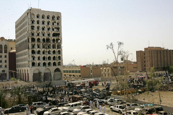 Green Zone - Baghdad「Many Dead As Central Baghdad Hit By Truck Bombs」:写真・画像(14)[壁紙.com]