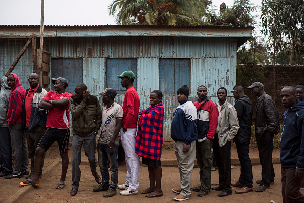 Kenya「Kenyans Head To The Polls For Presidential Election」:写真・画像(10)[壁紙.com]