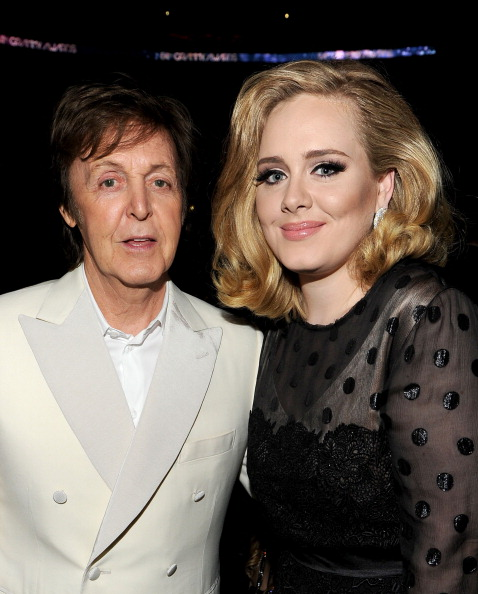 Adele - Singer「The 54th Annual GRAMMY Awards - Backstage And Audience」:写真・画像(5)[壁紙.com]