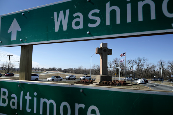 Religious Cross「Constitutionality Of Memorial Cross For WWI Military Fallen  In Maryland Debated」:写真・画像(13)[壁紙.com]