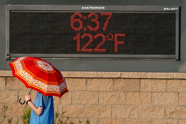 Heat - Temperature「Phoenix Boils In Near-Record Heat Wave」:写真・画像(1)[壁紙.com]