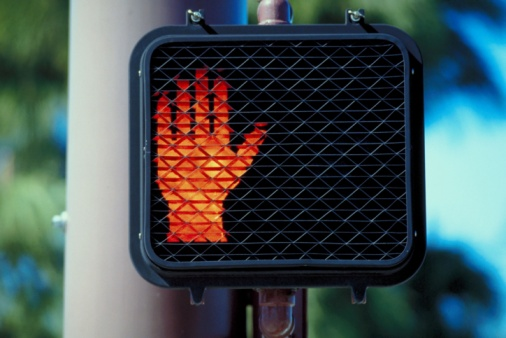 Hand「Pedestrian crossing sign」:スマホ壁紙(9)