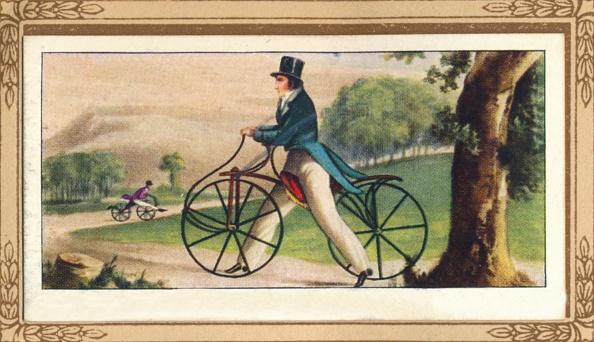 Cigarette Card「Pedestrian Hobby-Horse」:写真・画像(18)[壁紙.com]