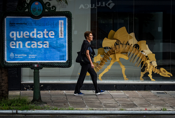 Argentina「Argentina On Extended Quarantine To Contain Coronavirus Until April 13」:写真・画像(15)[壁紙.com]