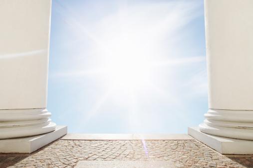 Finland「The sun shining between pillars.」:スマホ壁紙(0)