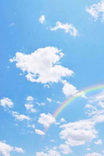 虹「Rainbow in Sky」:スマホ壁紙(14)