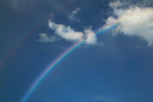 Miami Beach「Rainbow in a blue sky」:スマホ壁紙(10)