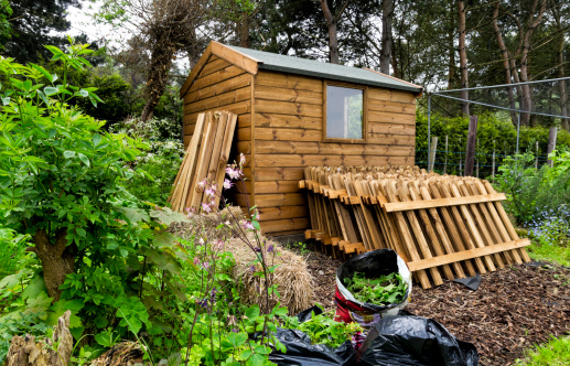 Wooden Post「Allotment and garden shed」:スマホ壁紙(12)