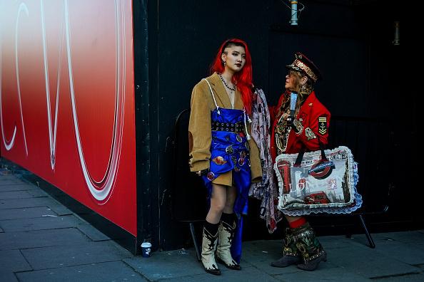 London Fashion Week「Street Style - LFW February 2019」:写真・画像(14)[壁紙.com]