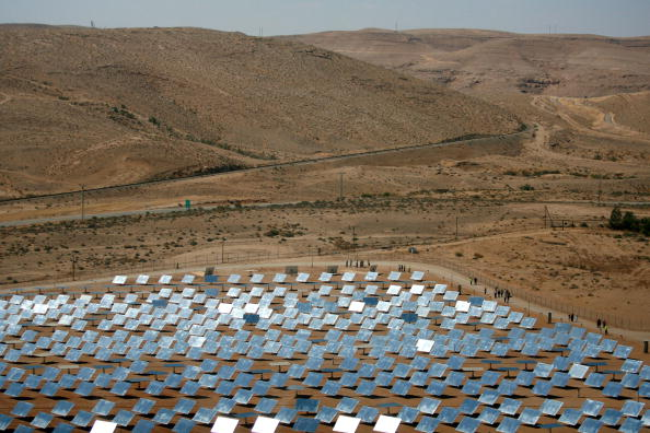 Sustainable Resources「New Solar Farm Opens In Israel」:写真・画像(7)[壁紙.com]