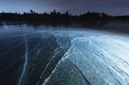 Water Surface「Fractured Lake」:スマホ壁紙(11)