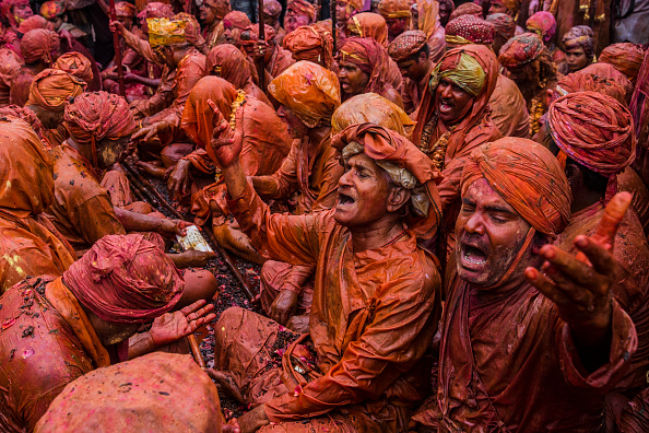 Hinduism「Hindus Celebrate Holi In India」:写真・画像(10)[壁紙.com]