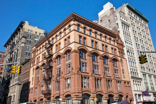 19th Century「376-380 Lafayette Street, landmark built for William Schermerhorn in 1888, New York City, NY, USA」:スマホ壁紙(2)