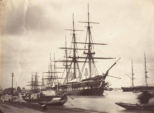Commercial Dock「HMS Shannon Off Calcutta」:写真・画像(16)[壁紙.com]