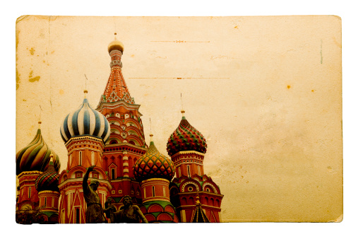 Auto Post Production Filter「Old Postcard Series - Moscow」:スマホ壁紙(9)